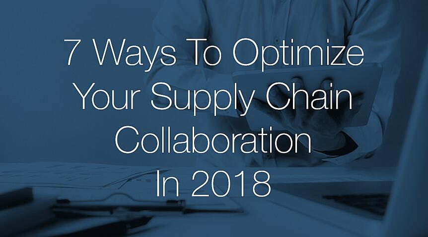 supply chain collaboration software