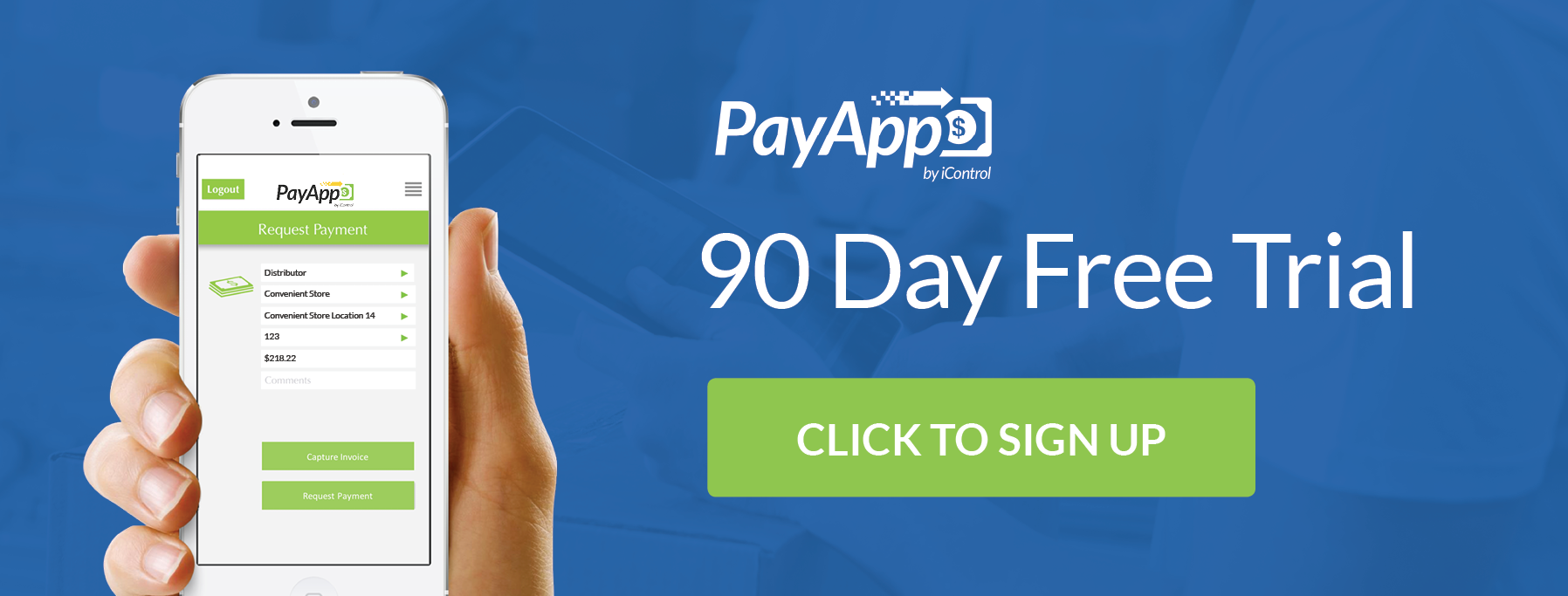 PayApp by iControl 90-Day Free Trial