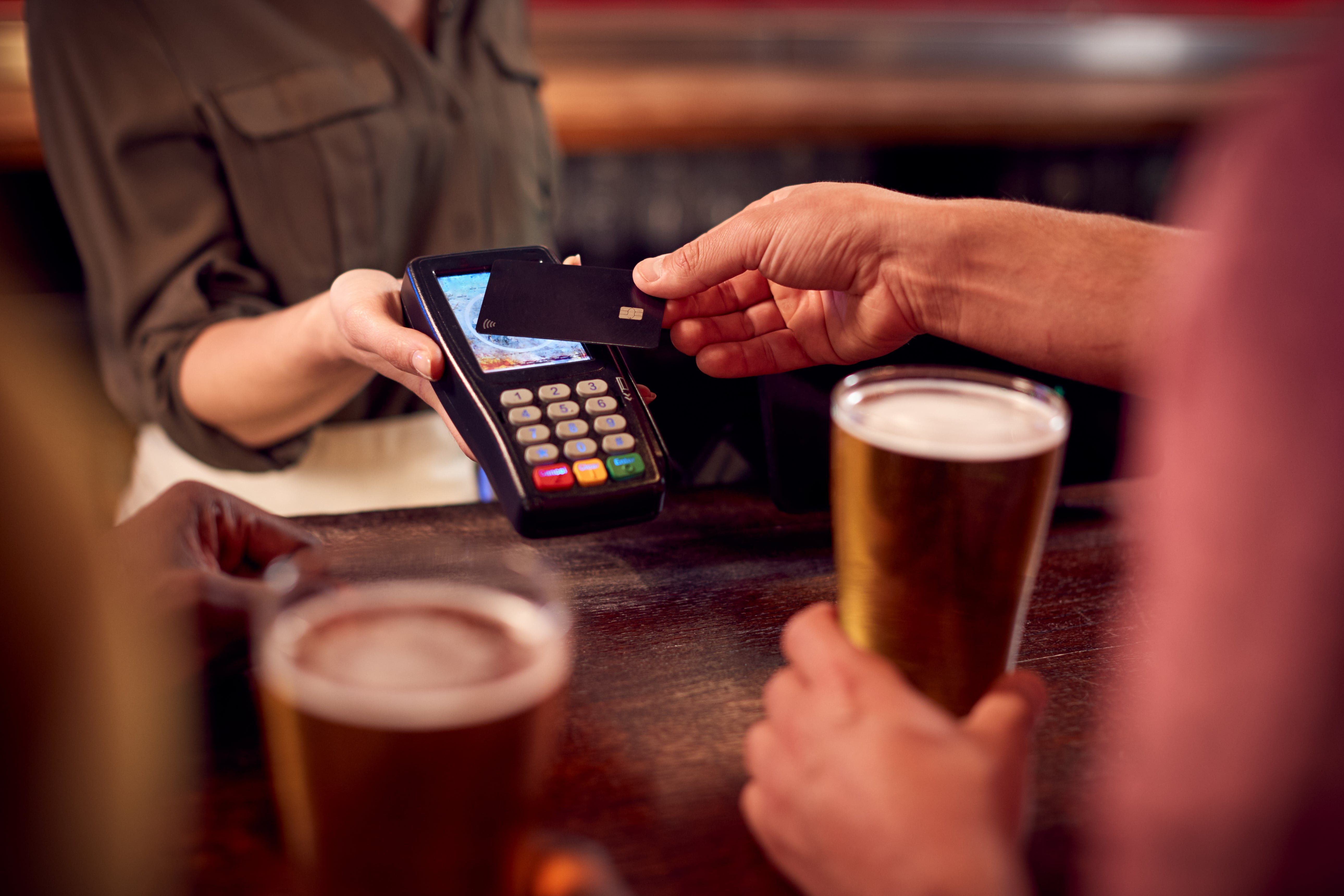 streamline alcohol payments